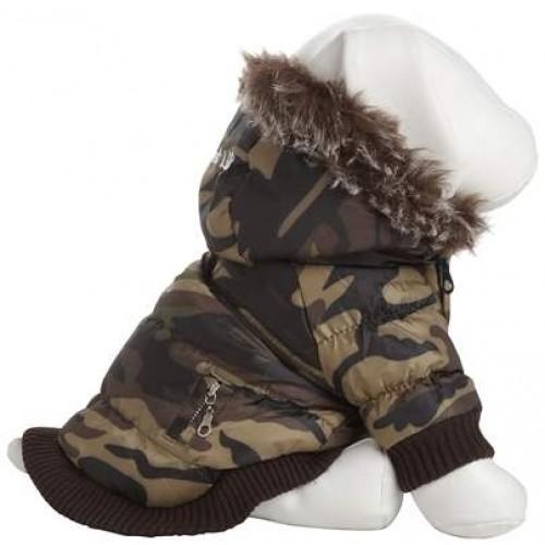 Camo pet dog coat