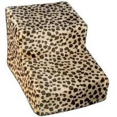 soft cheetah pet stairs